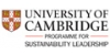 University of Cambridge Programme for Sustainability Leadership