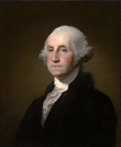 President George Washington signed into law the first version of the All Writs Act. Gilbert Stuart