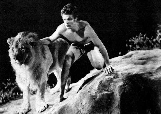 Buster Crabbe, US gold medallist, in Tarzan the Fearless (1933). Tom Simpson/Flickr, CC BY-NC-SA
