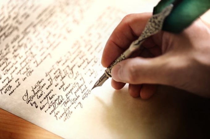 writing-letterl