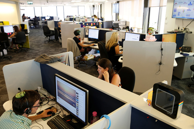 Data firms like SimilarWeb in Tel Aviv collect millions of informations. Baz Ratner/Reuters