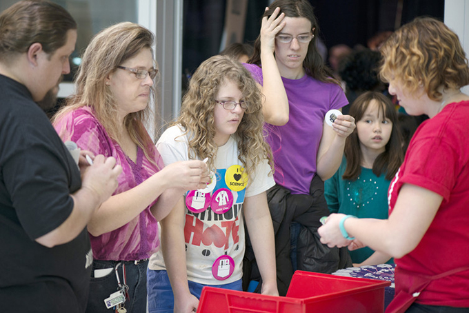 Women are well-represented at the undergraduate level in some STEM areas. SparkFun Electronics