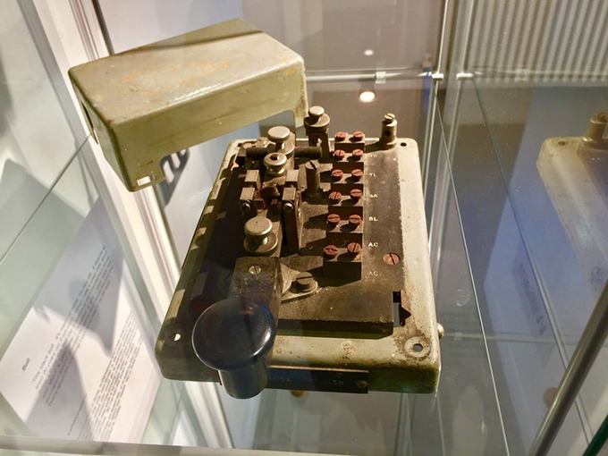 Treasured: a morse code machine. Gemma Carney., Author provided