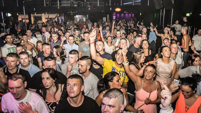 A makina rave in Newcastle. Monta Musica Facebook