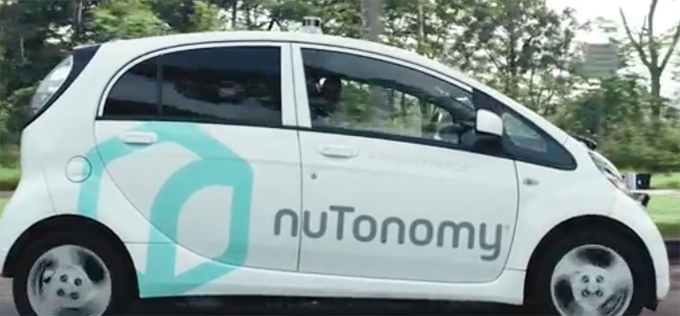 US start-up company nuTonomy launched driverless taxis in Singapore in 2016.