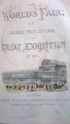 Children's Prize Book of the Great Exhibition. Pollard Collection, Trinity College Dublin